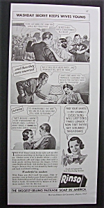 Vintage Ad: 1935 Rinso Soap (Image1)