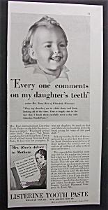 1934  Listerine  Tooth Paste (Image1)