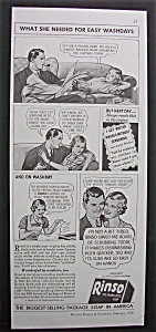 Vintage Ad: 1936 Rinso Soap (Image1)