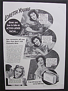 1940 Lux Soap With Loretta Young