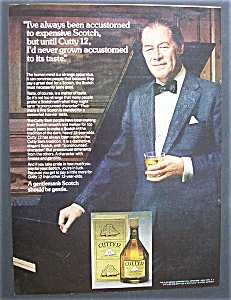 1975 Cutty 12 Whiskey With Rex Harrison