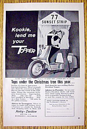 "1959 Harley Davidson Topper with Edd ""Kookie"" (Image1)"