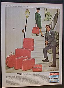 Vintage Ad: 1964 American Luggage W Elio of Madrid (Image1)