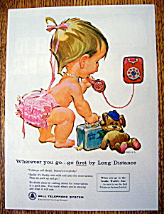 Vintage Ad: 1962 Bell Telephone System (Image1)