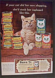 1965 Friskies Cat Food