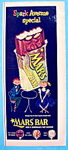 Vintage Ad: 1954 Mars Chocolate Toasted Almond Bar