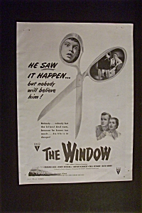 1949 The Window With Barbara Hale & Bobby Driscoll