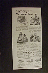 1918 Van Camp's Soup