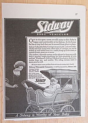 1921 Sidway Baby Vehicles w/ Collapsible Baby Carriage (Image1)