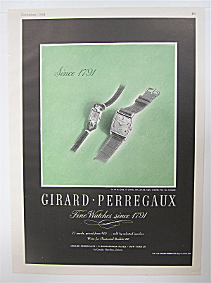 1946 Girard Perregaux Watches With 2 Watches