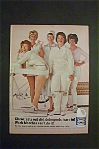 1965 Clorox Bleach with 5 Different Women (Image1)