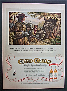 1954 Old Crow Whiskey