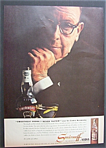 1958 Smirnoff Vodka With Sir Cedric Hardwicke