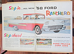 1957 Ford Trucks with The '58 Ford Ranchero (Image1)