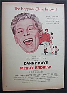 1958 Merry Andrew With Danny Kaye