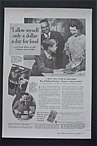 1935 Royal Baking Powder with A Dollar A Day (Image1)