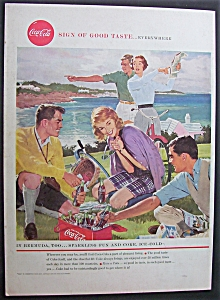 1958 Coca Cola (Coke) with People Enjoying Soda (Image1)