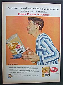 Vintage Ad: 1958 Post Bran Flakes By Dick Sargent (Image1)