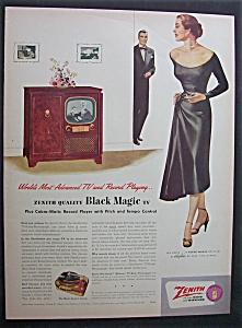 1951  Zenith  Quality  Black  Magic  TV (Image1)