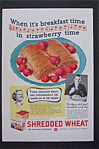 1936 Shredded Wheat with Strawberry Time  (Image1)
