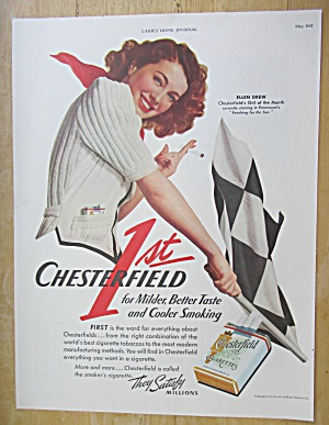 1941 Chesterfield Cigarettes with Ellen Drew  (Image1)