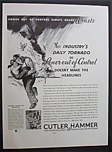 Vintage Ad: 1934  Cutler  Hammer (Image1)