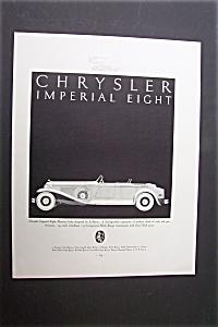 1931 Dual Ad: Chrysler Imperial & Stearman (Image1)