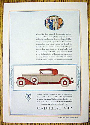 1931 Cadillac with the Cadillac V-12 (Image1)