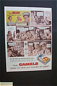 1956 Camel Cigarettes with Phil Silvers as Sgt. Bilko (Image1)