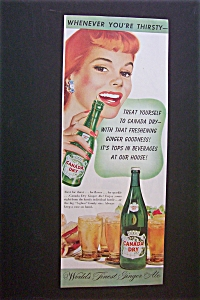 1948 Canada Dry Ginger Ale