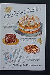 1936 Pillsbury's Best Flour with Autumn's Desserts (Image1)