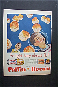 1956 Puffin Biscuits