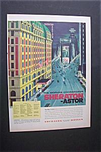 1956  Sheraton -Astor  Hotel (Image1)
