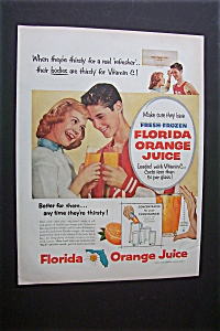 1956 Florida Orange Juice