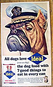 Vintage Ad: 1965 Ideal Dog Food (Image1)