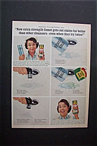 1965  Comet  Cleanser with Josephine the Lady Plumber (Image1)