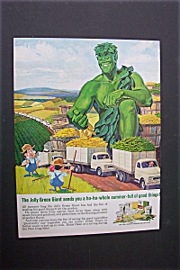 1965 Green Giant Vegetables