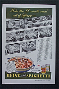 1936 Heinz Cooked Spaghetti with 12 Minute Meal  (Image1)