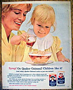 Vintage Ad: 1962 Quick Quaker Oats (Image1)