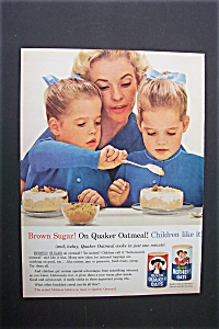 1963 Quick Quaker Oats