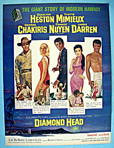 Vintage Ad: 1963 Diamond Head With Charlton Heston