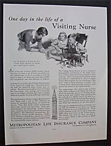 1934 Metropolitan Life Insurance Company w/Nurse & Boy (Image1)