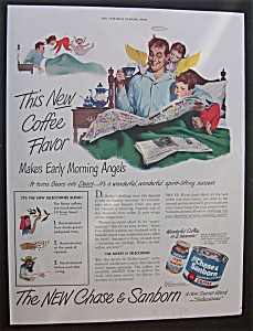 1949 Chase & Sanborn Coffee