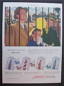 1949  Arrow  Men's  Shirts By  John  Falter (Image1)