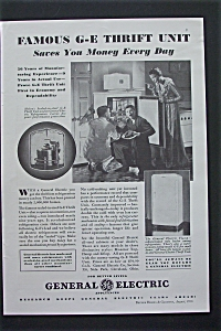 1936 General  Electric Thrift Unit with Saves You Money (Image1)