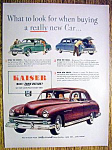 Vintage Ad: 1949 Kaiser (Image1)