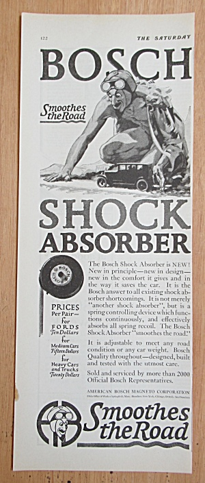 1924 Bosch Shock Absorbers with an Evil Man  (Image1)
