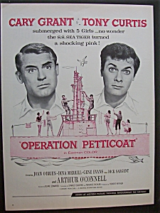 1959 Operation Petticoat With Cary Grant & Tony Curtis