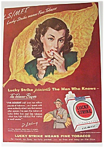 1948 Lucky Strike Cigarettes