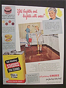 1948  Self-Polishing  Simoniz  for  Floors (Image1)